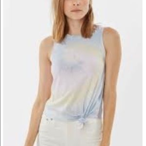 GENERATION LOVE Layla Sleeveless Tie Front Top